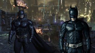 Batman Arkham City Dark Knight Suit Mod