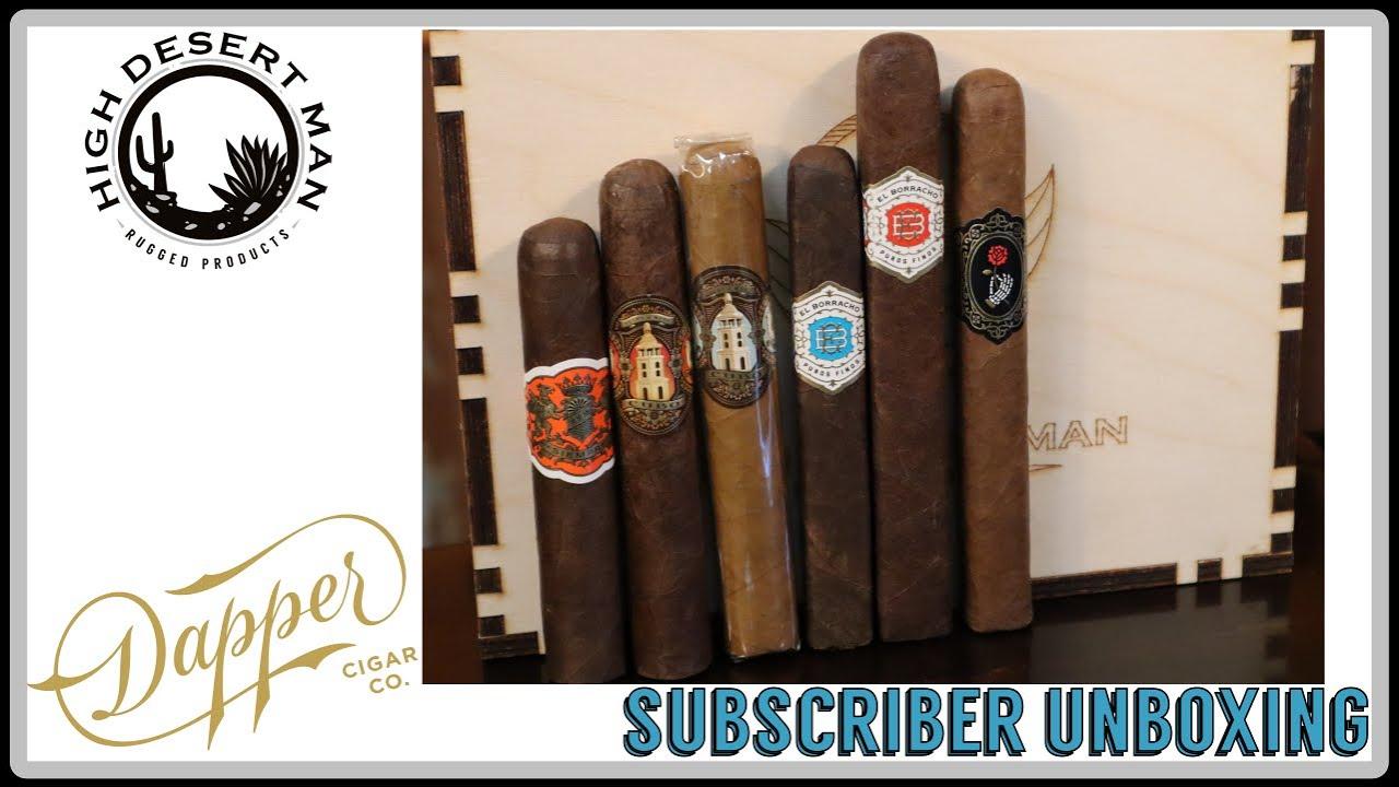 A Subscriber Unboxing - More Dapper Cigars!!!