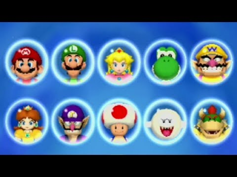 Mario Party 5 - All Characters