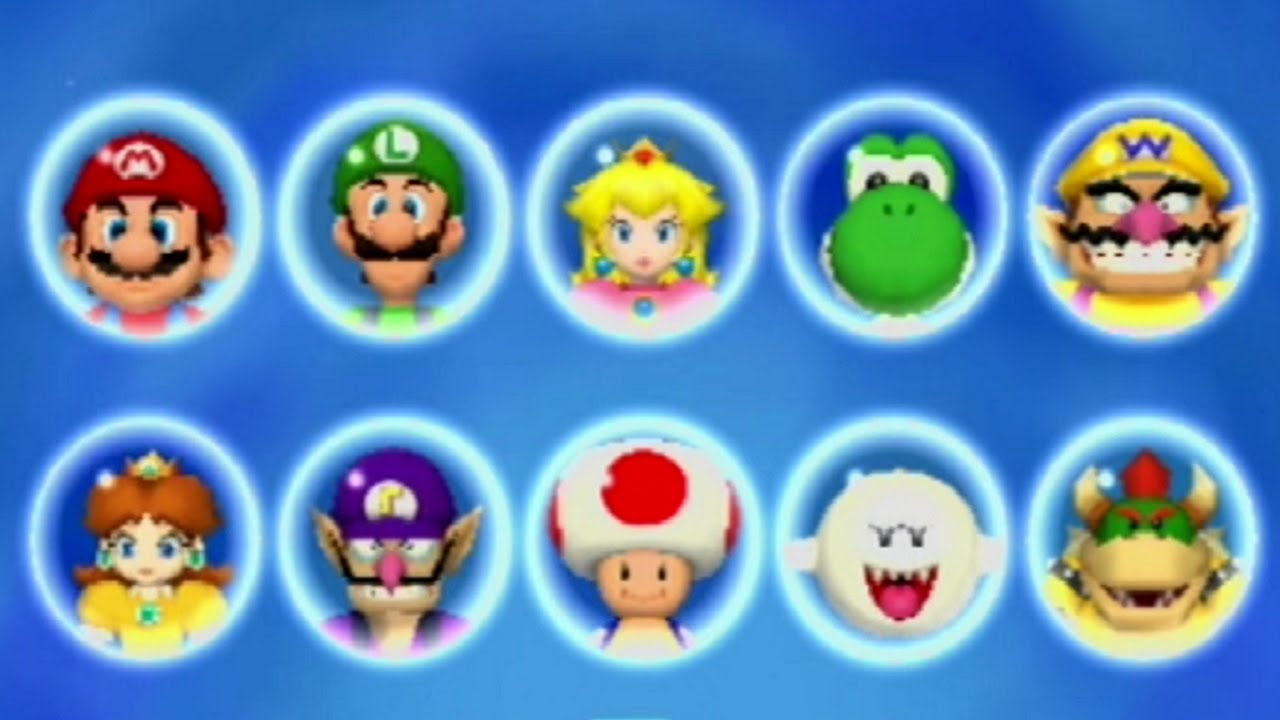 how to get all the mario kart characters