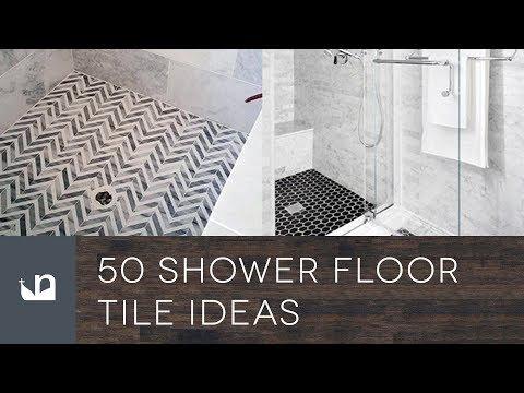 50 Shower Floor Tile Ideas