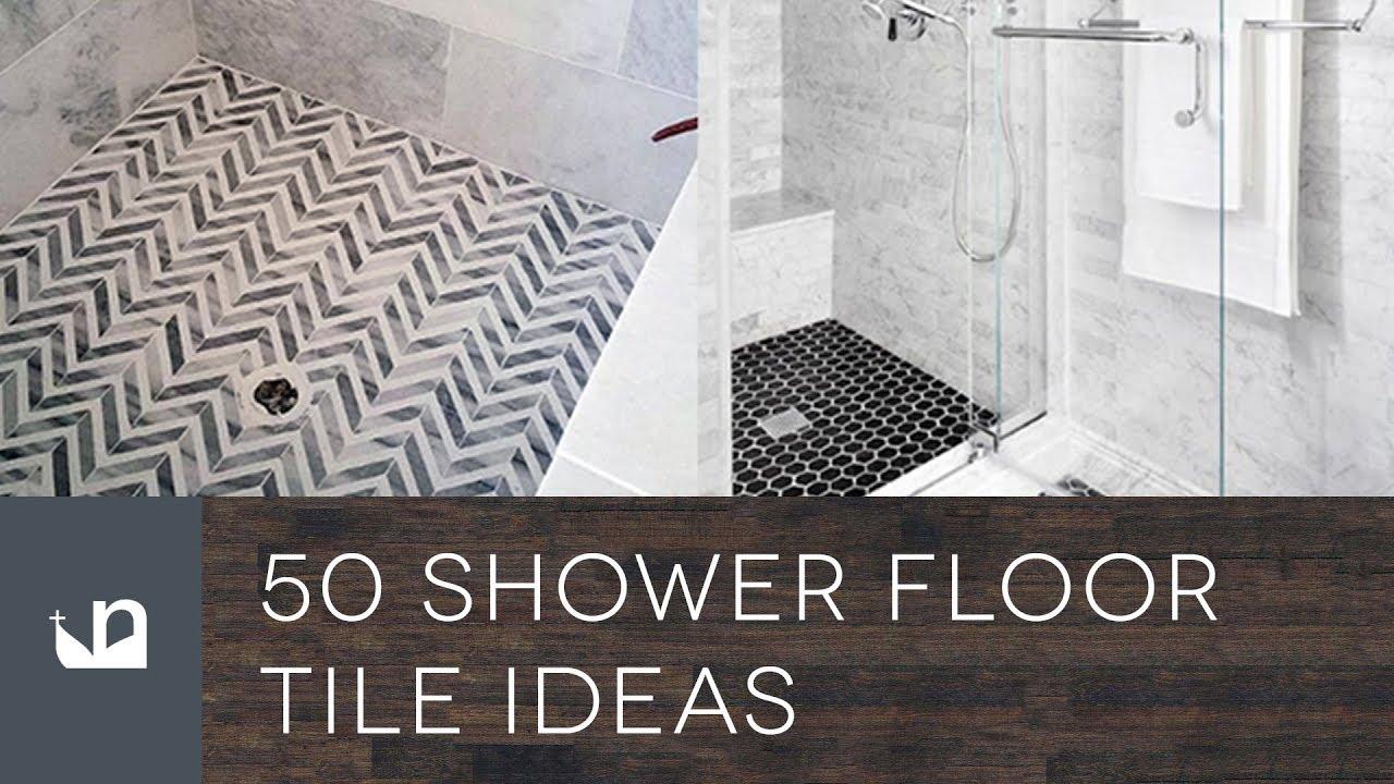 50 Shower Floor Tile Ideas You