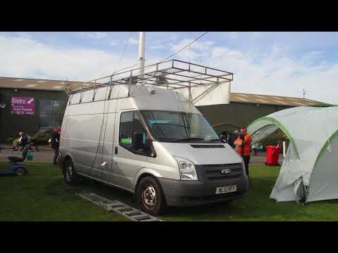 Making a Mobile Station - Flossie
