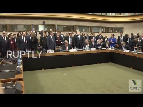 Switzerland: Key leaders meet and greet ahead of Cyprus settlement talks