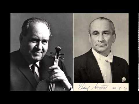 David Oistrakh, Beethoven Romance No.2 in F major for Andrea