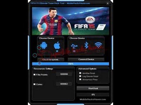 FIFA Mobile 17 HACK 9999636 COINS IOS & Android no jailbrake!!!