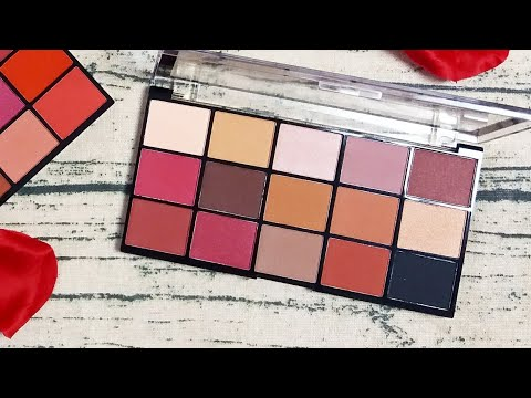 Makeup Revolution Iconic reloaded vitality eyeshadow palette, IS IT THE SAME AS CHOCOLATE ELIXIR?