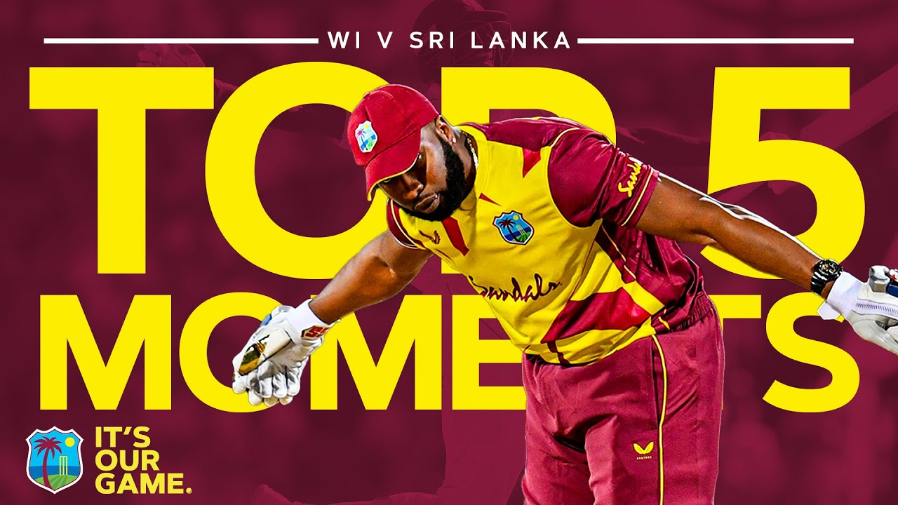Memorable Milestones, Dream Debuts & Six Sixes in an Over! | Top 5 Moments v Sri Lanka