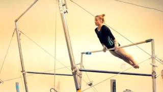 How to Do a Basic Routine on Bars | Gymnastics