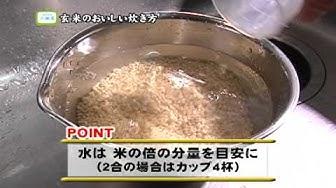 中野商店 <玄米の炊き方>