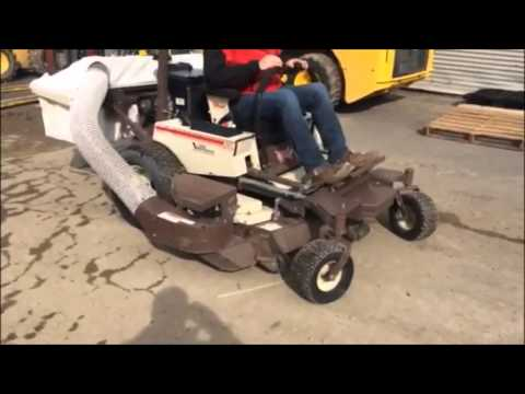 Grasshopper 327 Zero Turn Lawn Mower For Sale on Online Auction