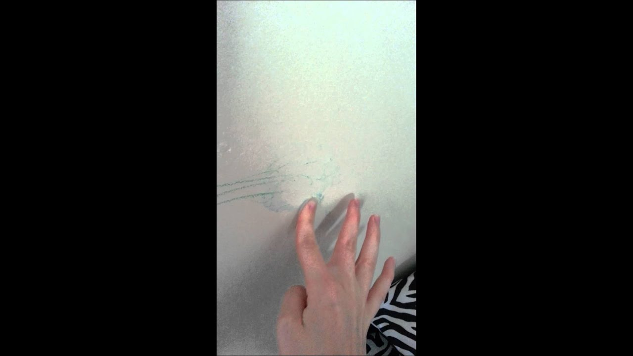 How to remove crayon off the wall youtube - Remove crayon walls ...