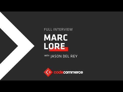 Live: Marc Lore, CEO of Walmart eCommerce in the U.S., from Code Commerce