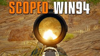 SCOPED WINCHESTER! Racetrack and Throwing Pans! | PUBG