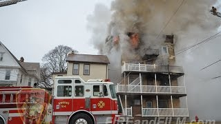 Multiple Alarm Building Fire - Lehighton, PA - 01/09/2017