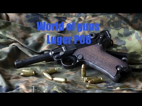 World of Guns Gun Disassembly: Luger P08.