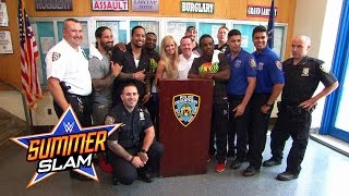 "Superstars and Divas ""Answer the Call"" during SummerSlam Week in New York City"