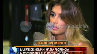 Nisman: entrevista a  Florencia Cocucci- Telefe Noticias