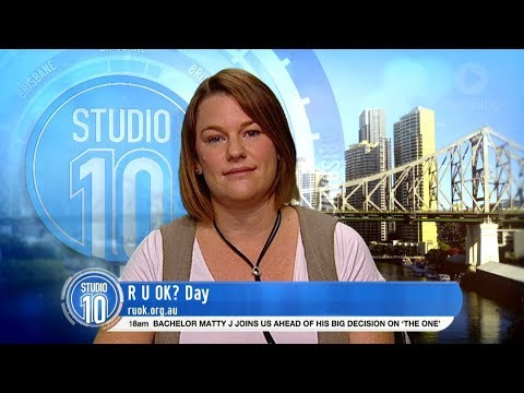 Tara From Australia Survivor 2017 Talks R U OK? Day | Studio 10