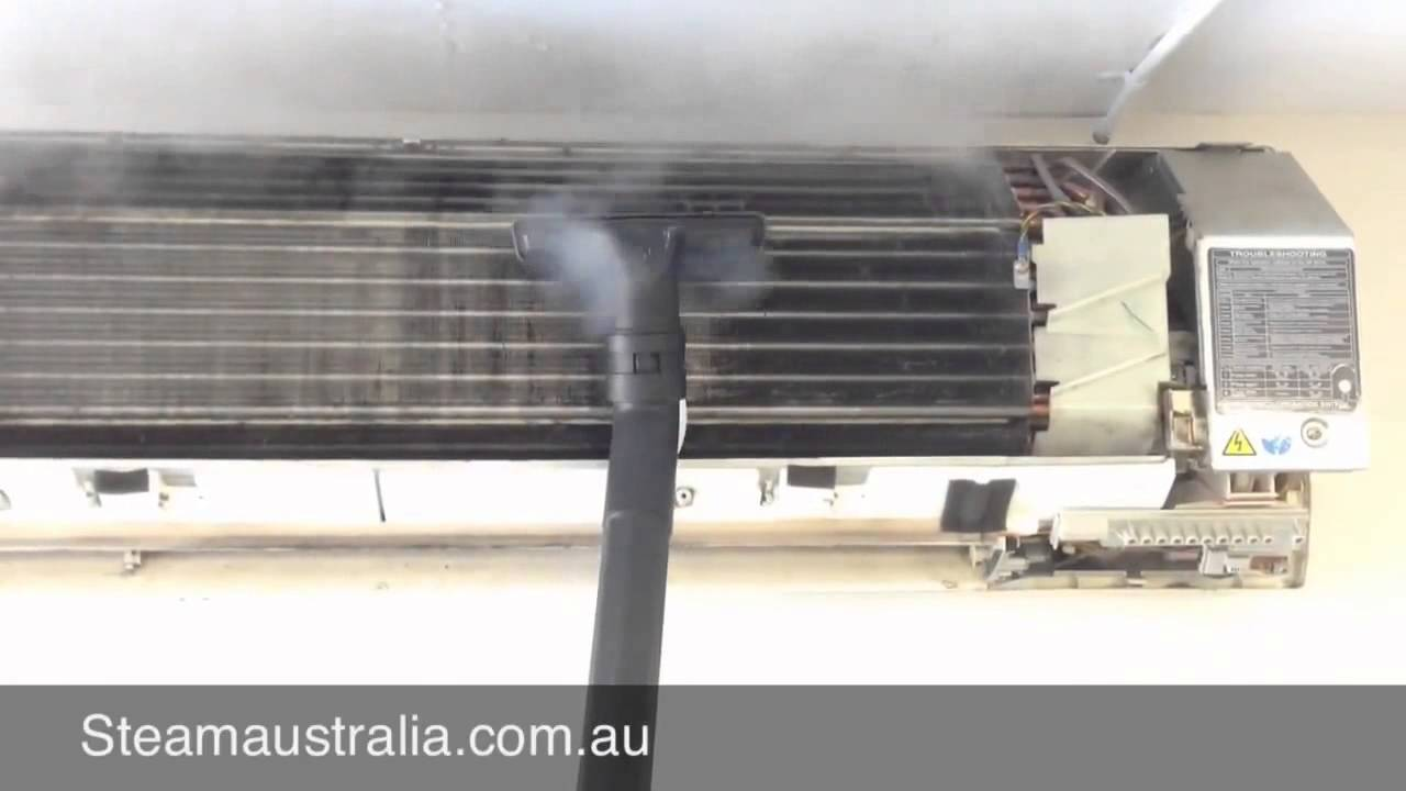 How To Steam Clean An Air Conditioner With Steam