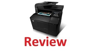 HP LaserJet Pro 200 color MFP M276nw Review