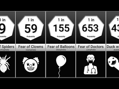 Probability Comparison: Phobias