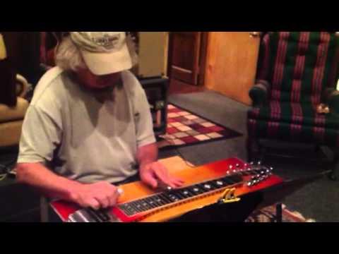 Dan Dugmore at Mike Broward recording session