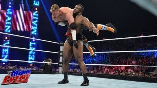 Curt Hawkins vs. Big E. Langston: WWE Main Event, July 3, 2013
