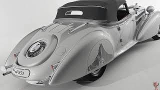 1938 Horch 853A Special Roadster — живая классика немецкого автомобилестроения