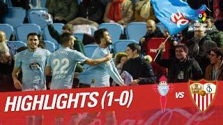 Highlights RC Celta vs Sevilla FC (1-0)