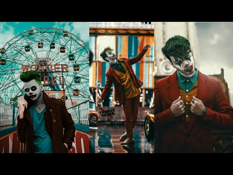 PicsArt Joker Face Concept Photo Editing Tutorial in picsart  - Joker Editing thumbnail