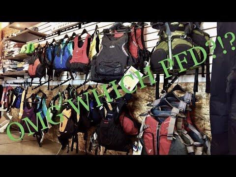 Choosing The Right Kayaking PFD
