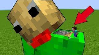 Секретный страшный бункер в Балди в Майнкрафт! Нуб и про проходят ловушки в minecraft троллинг дом