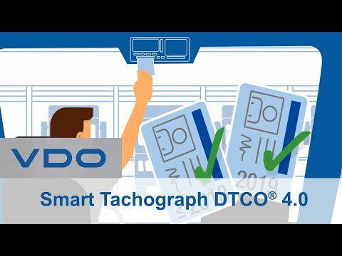 DTCO 4.0 The Smart Tachograph