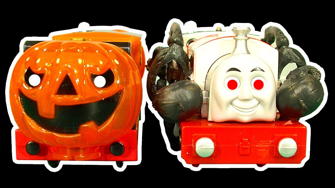 Thomas The Tank Halloween Theme How To Make Thomas Friends Scary