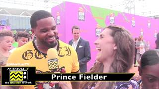 Kids Choice Sports Awards interview with Prince Fielder