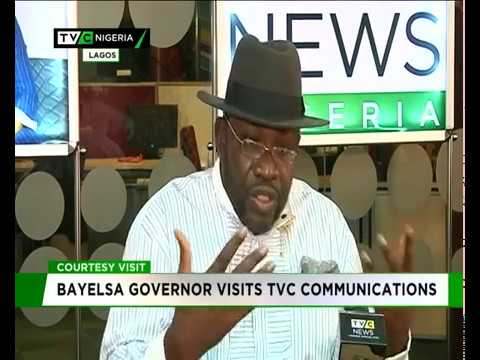 17/04/2018  TVC News  Bayelsa State Governor at TVC Communication
