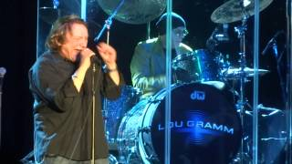 """Blue Morning, Blue Day"" Lou Gramm@Golden Nugget Atlantic City 2/16/14"