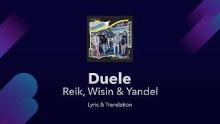 Reik, Wisin & Yandel - Duele Lyrics English and Spanish - Engl…