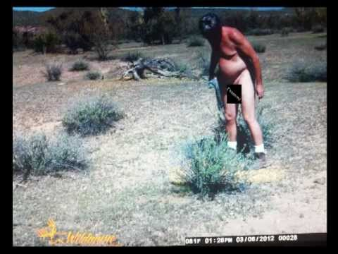 Nude trail cam pics