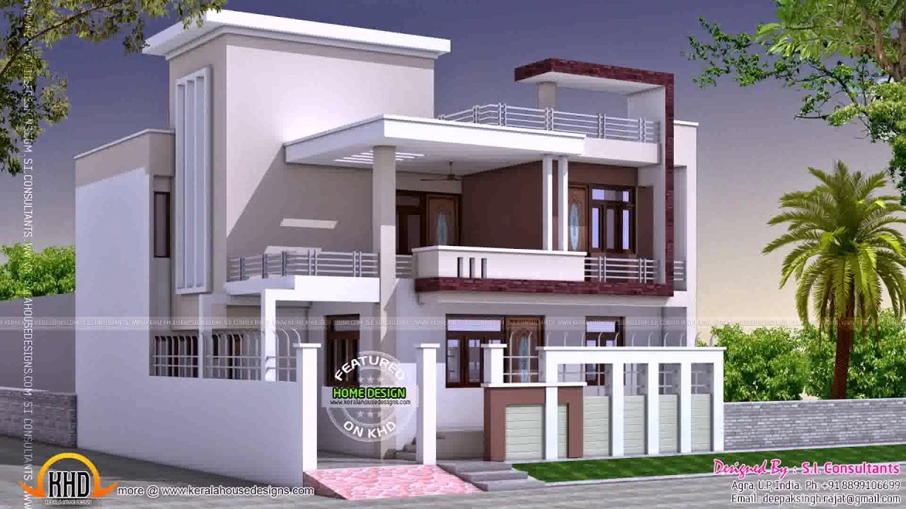 House plans for 2000 sq ft in india youtube for House plan for 2000 sq ft in india