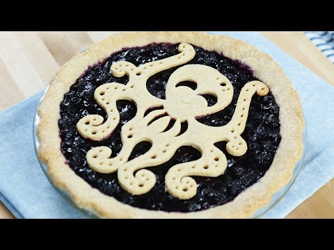 Make DAIRY FREE BLUEBERRY OCTO-PIE - NERDY NUMMIES Pics
