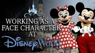 """Working as a Face Character at Disney World"" Creepypasta"