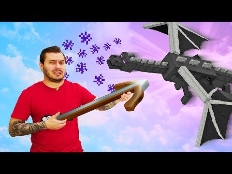 Майнкрафт видео обзор – Как Нубу победить Эндер Дракона? – Игры для мальчиков в Гейм шоу