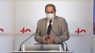 Torra urge a aplicar confinamientos en Madrid