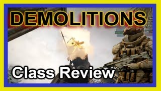 Medal Of Honor Warfighter Gameplay - Demolitions Class Review How to Play It and Why