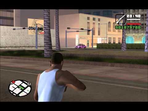Let´s Cheat GTA San Andreas Cheats Crazy