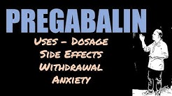 Pregabalin Review 25mg 75mg 150mg Side Effects Anxiety and Withdrawal