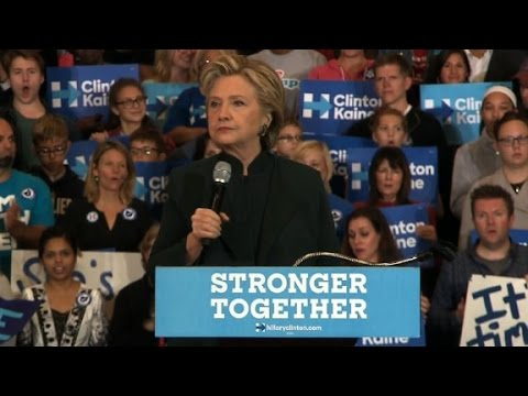 Hillary Clinton: Trump is threatening our democracy