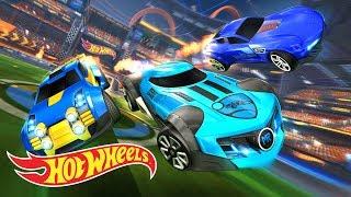 Rocket League Triple Threat DLC Trailer | Hot Wheels